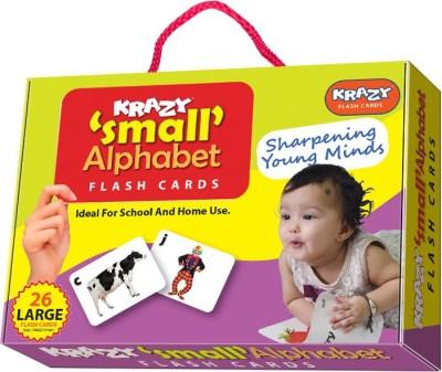 Krazy Small Alphabet Flash Cards