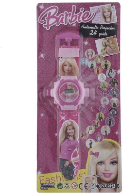 ToysBuggy Barbie 24 Images Projector Watch