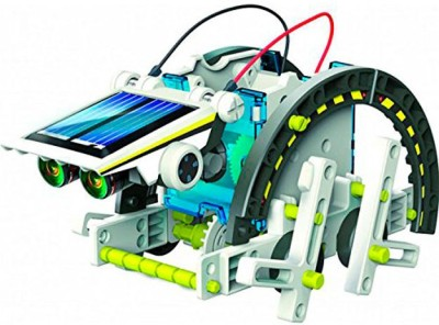 Smiles Creation 14 in 1 Educational solar robot kit
