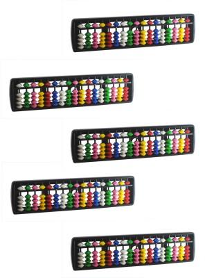 Djuize 17 Rod Multicolor Abacus Set Of 5
