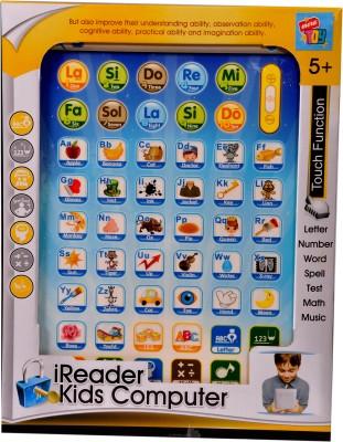 Mera Toy Shop iReader Kids Computer Tablet-White