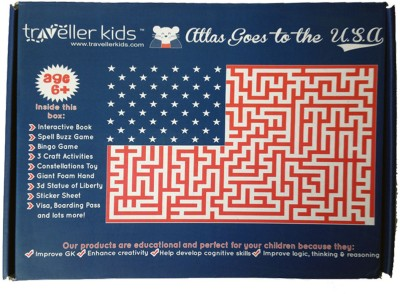 Traveller Kids Atlas Goes to the U.S.A