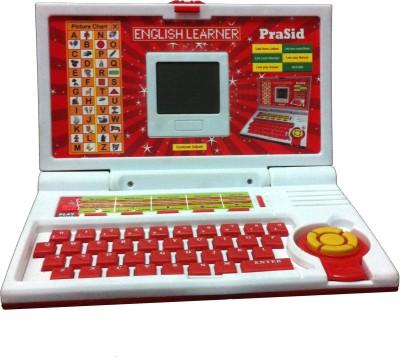 Prasid English Learner Laptop for Kids 20 Activities