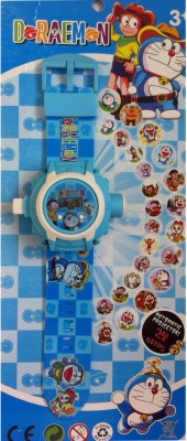 ToysBuggy Doraemon 24 Images Projector Watch