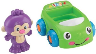 Fisher-Price Laugh & Learn Monkey's Learning Car
