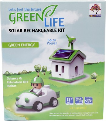 Solar Tree Green Life House and Car Solar Rechargeable Kit