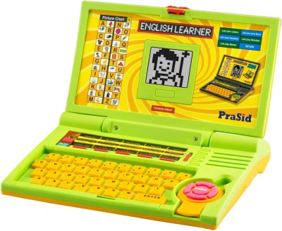 Prasid Kids English Learner Computer Toy Educational Laptop