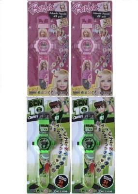 Users DEL to DSS_Kids Digital 4 watches include projector functional with 4*24 Images