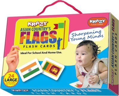 Krazy Asian Country Flags