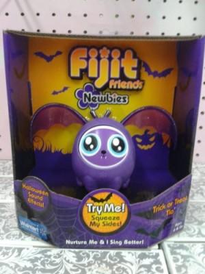 Mattel Fijit Friends Newbies Halloween BAT Figure PURPLE TRICK or TREAT TIA - LIMITED EDITION!