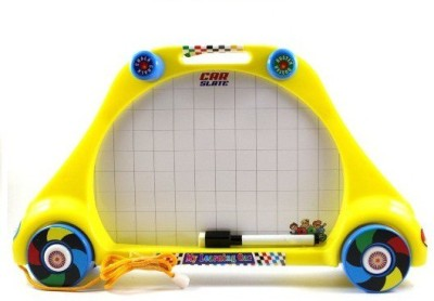 i-gadgets 2 In 1 Car Learning Slate With Wheels
