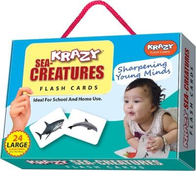 Krazy Sea Creature Flash Cards