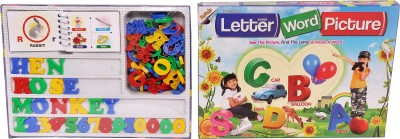Indigo Creatives Kids Hobby Educational Game - Letter Word Picture