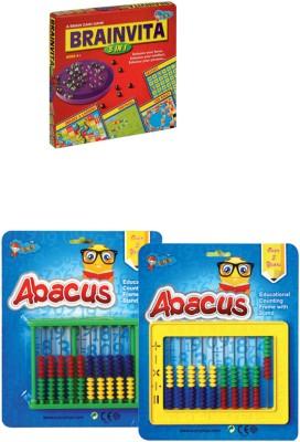 Sunny Super Abacus with Brainvita