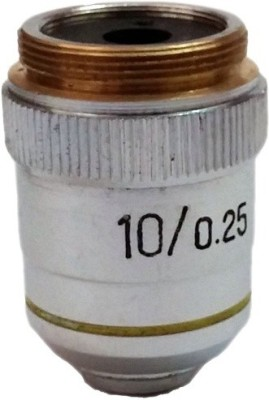 Labpro Objective 10x Brass Chrome Plated(Silver)