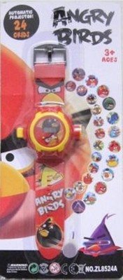 Park,s Angry Bird 24 Images Projector Watch