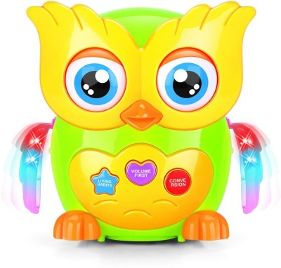 GoMerryKids Doctor Owl New Generation Early Education Series Musical Toy