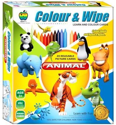 Lotus Applefun Colour & Wipe Animal
