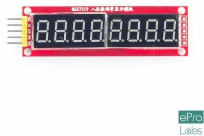 ePro Labs 8 Digit MAX7219 Display Module