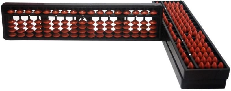 Sae Fashions 17 Rod Abacus Kit Type 1 Set Of 3(Brown)