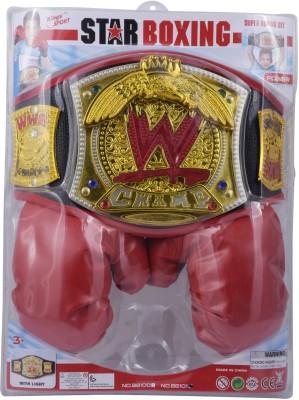 Tomato Tree WWE belt & Boxing Gloves