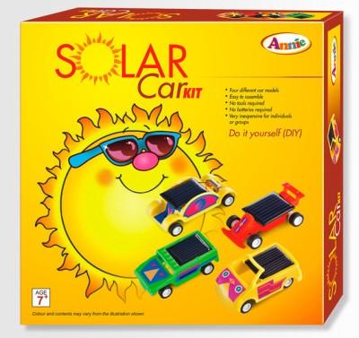 Annie Solar Car Kit(Multicolor)