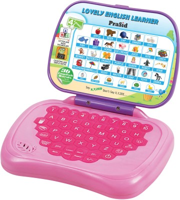 Prasid Lovely English Learner Kids Laptop