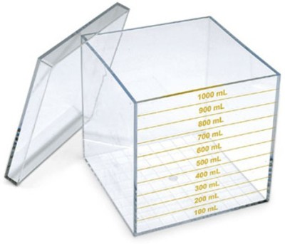 Math Buddy Labs Liter Cube With Lid