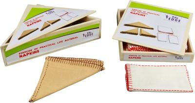 Eduedge Montessori Materials Exercises Of Practical Life - Napkins