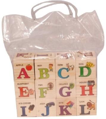 Homeshopeez Wooden Alphabets Set