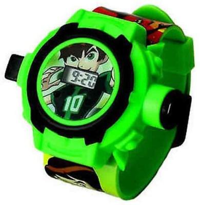 Ktkashish Toys Kashish Green Ben 10 Projecter Watch