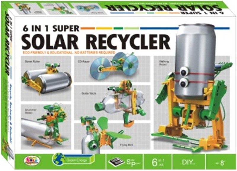 Ekta 6 In 1 Solar Recycler(Multicolor)