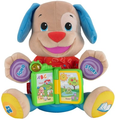 Fisher-Price Laugh and Learn Singin Storytime Puppy  - 16 inch
