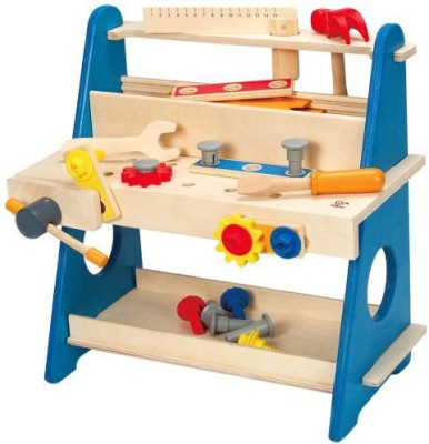 Hape Hape - My Handy Workshop Wooden Tool Kit Play Set(Multicolor)