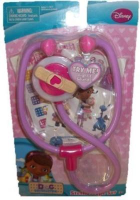 Disney Jr Doc Mcstuffins Just Play Docs Stethoscope SET with Light & Sounds