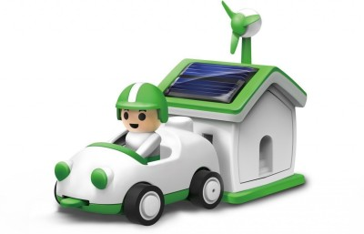 Sunlight Green Life Solar Rechargeable Learning Education Toy
