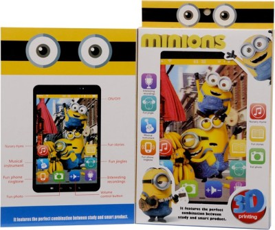 Montez Minion Story Learning Tablet For Kids With Stand