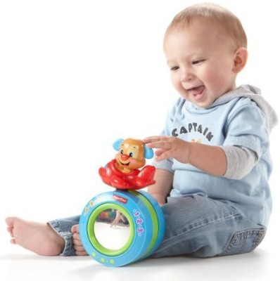 Fisher-Price Puppy's Crawl-Along Ball