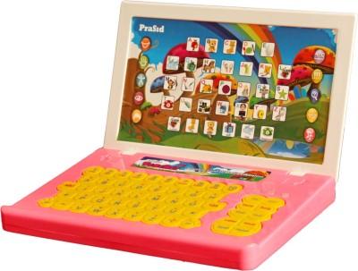 Prasid English Teacher Computer Toy Educational Laptop Pink