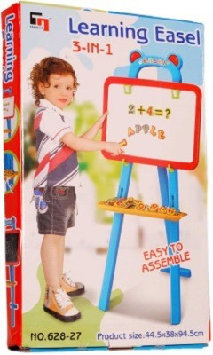 Khareedi Learning Easel Early Development(Black, Blue)