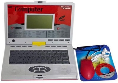 Fantasy India 80 Activities Kids Talking Educational Laptop With Mouse Cd Drive And Headphone