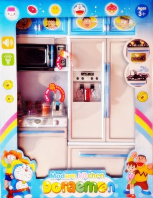 Ruppiee Shoppiee Doraemon Modern Kitchen Set