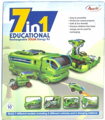 Annie 7 in 1 Educational Rechargeable Solar Energy Kit