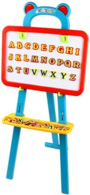 Swarish Kids Creativity Magnetic Board 84 Letters Nos Symbols Center Art Easel Writing