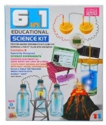 Ekta 6-in-1 Educational Science Kit