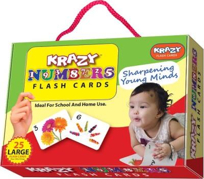 Krazy Krazy Numbers Flash Cards