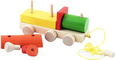 Skillofun Pull Along - Shape Sorter Engine