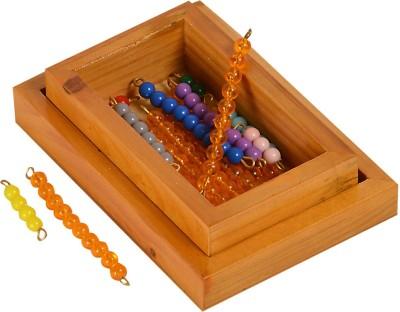 Kidken Montessori Bead Material for Seguin's Teen Board