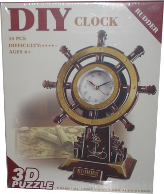 Dr. Mady 3D-Puzzle Rudder Clock