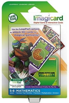 LeapFrog Teenage Mutant Ninja Turtles Imagicard Learning Game